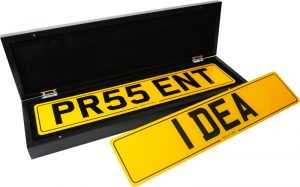 DVLA REgistration Presentation Boxes